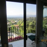 Interior View Double Sliding Screen Doors in Master Bedroom Installed inThousand Oaks