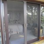 Exterior View Double Sliding Screen Doors in Thousand Oaks