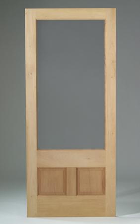Security screen doors wood screen doors for Wood screen doors