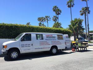 Mobile Screen Vans