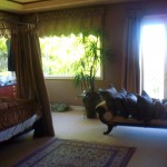 Window Screens in Master BedRoom for Fresh Breeze Ventilation