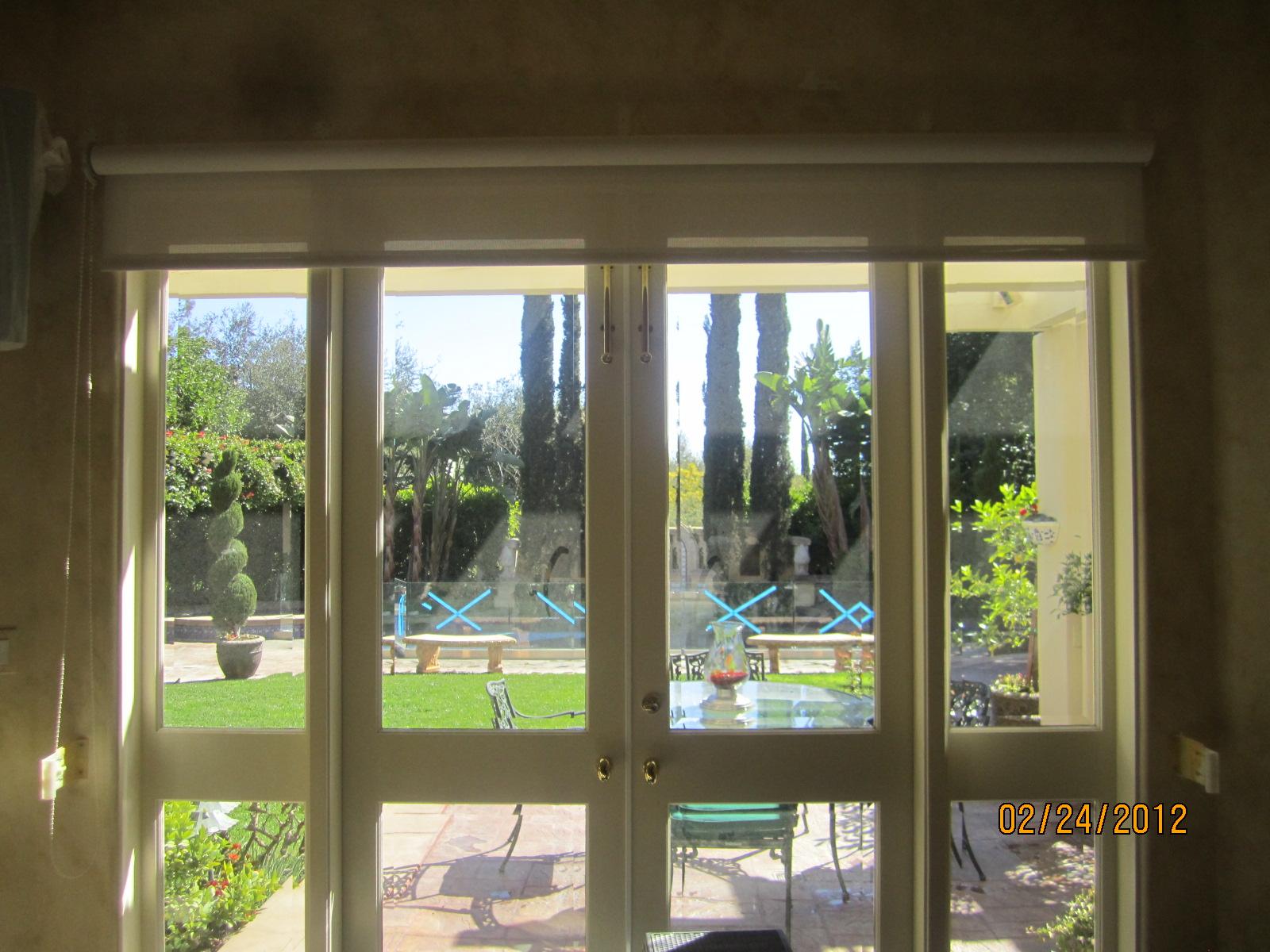 Hide away screen door retractable screen doors screen for Hideaway screens for french doors