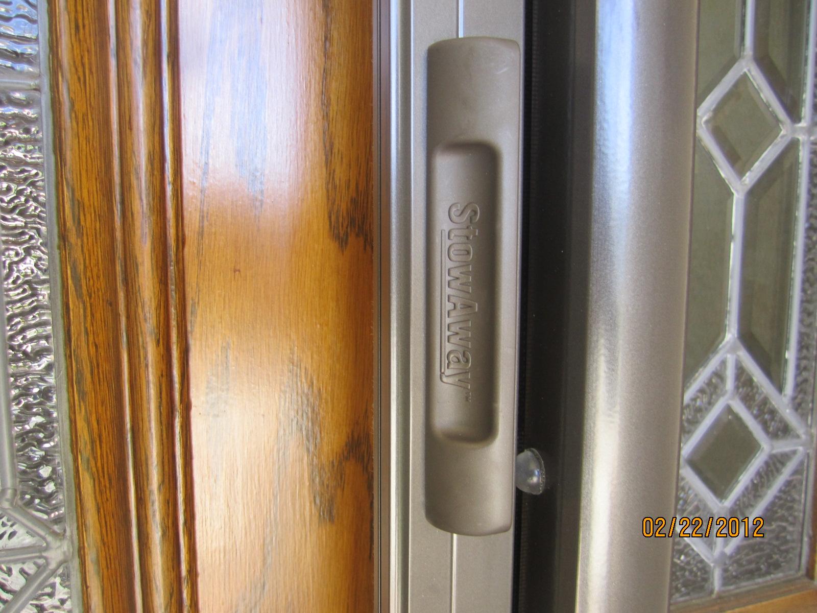 Screen door service in hidden hills licensed contractor for Hidden sliding screen door