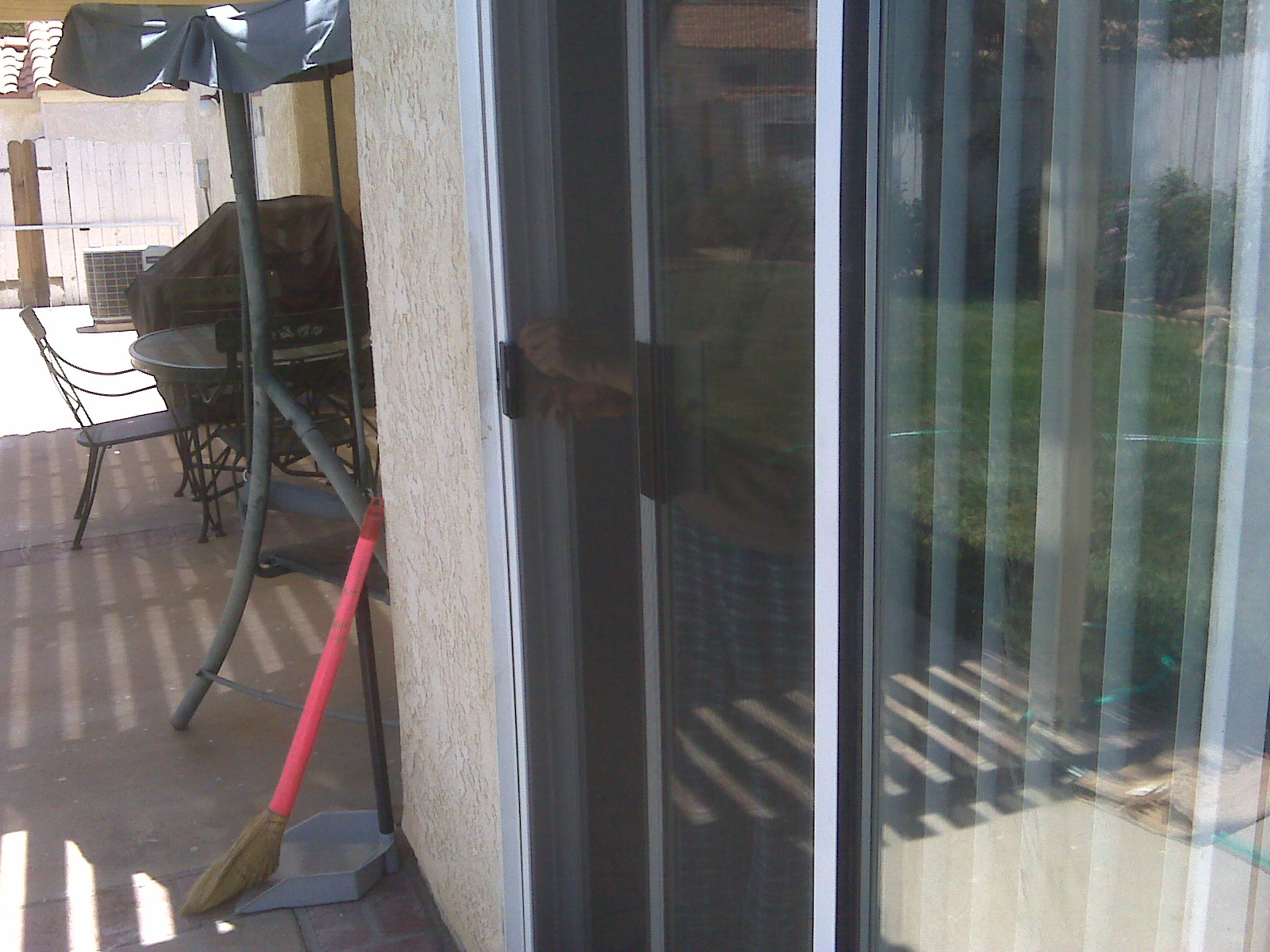 Sliding screen doors retractable screen doors part 7 for Universal sliding screen door