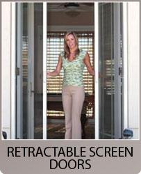 Heavy duty sliding screen doors retractable screen doors for Roll away retractable screen doors