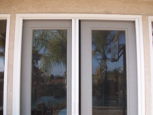 Closed Retractable Doors