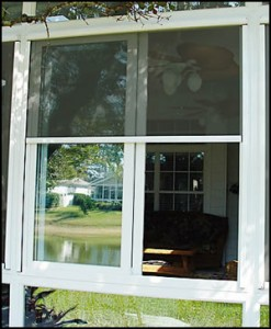 | Retractable window screen installed in san fernand valley
