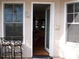 new window screens & dissapearing screen door