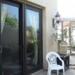 Malibu Single Retractable Screen Doors
