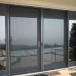 Double Set Retractable Screen Doors in Malibu