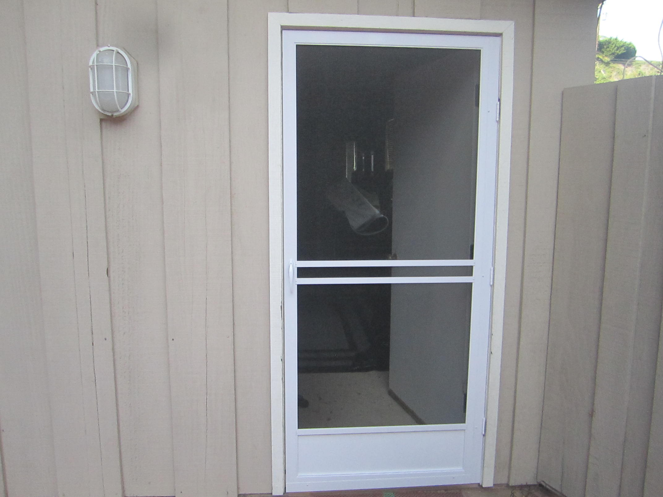 patio sliding door mobile screen service