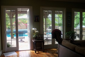 Stowaway Retractable Screen Doors