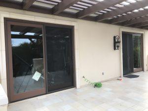 vinyl screen door