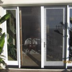 Dissappearing Screen Doors in Northridge