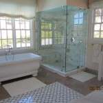 Window screens for master bathroom