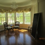 New custom made windows screens for music room