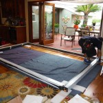 Installation of Centor Arquitectural Screen for Bi-Folding Glass Doors in West Hills
