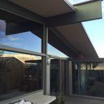 Retractable Screen Doors in Topanga double Set French Doors