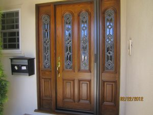 Pull Out Screen Door