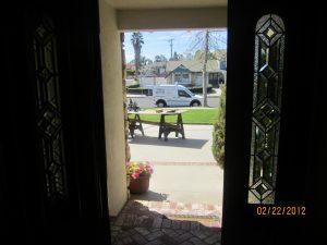 mobile home screen door