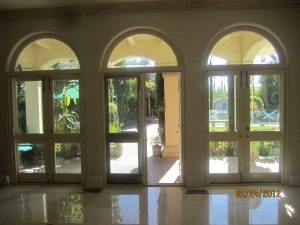 Arched Screens